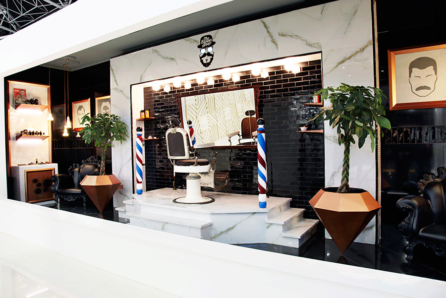 "VXLAB Projects | ""The Barber Shop"" interior design for ..."